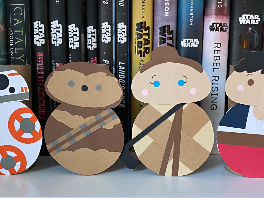 Star Wars Roll Out crafts final