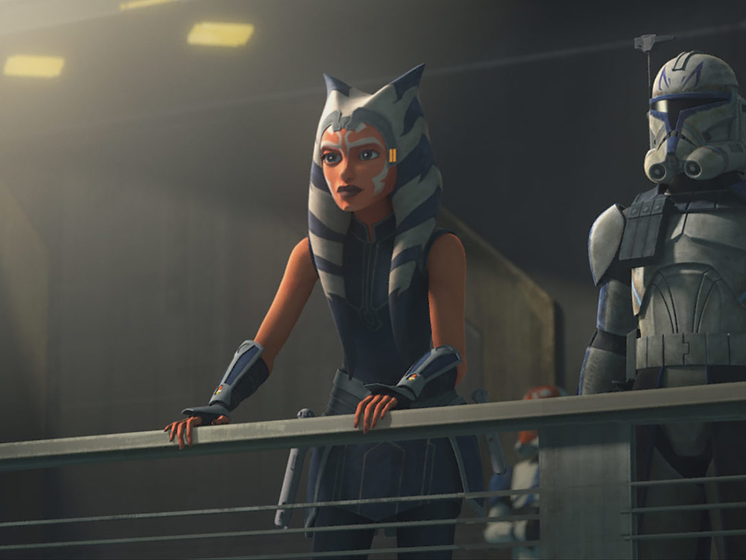 Ahsoka and Captain Rex