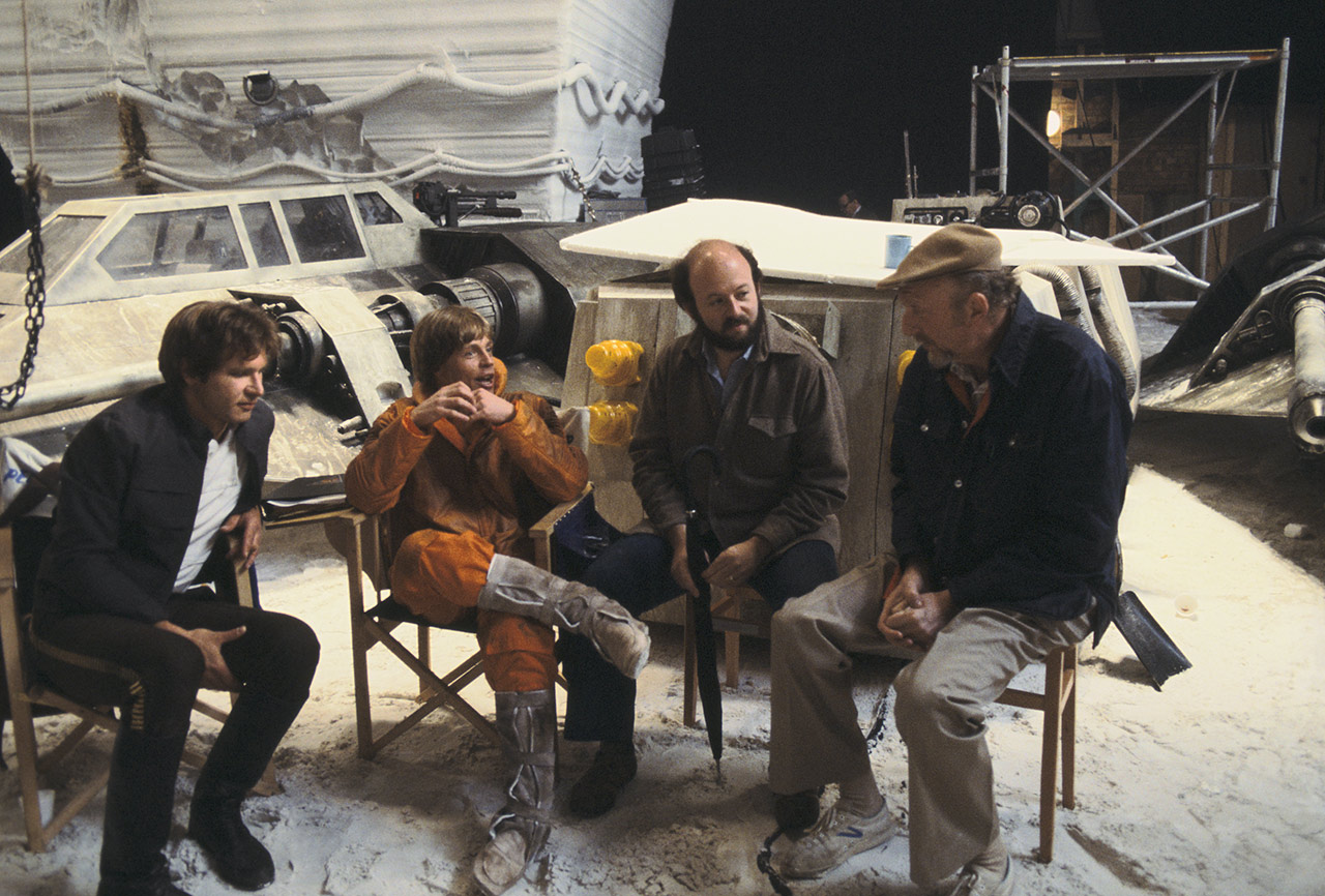 Mark Hamill and Harrison Ford The Empire Strikes Back behind the scenes