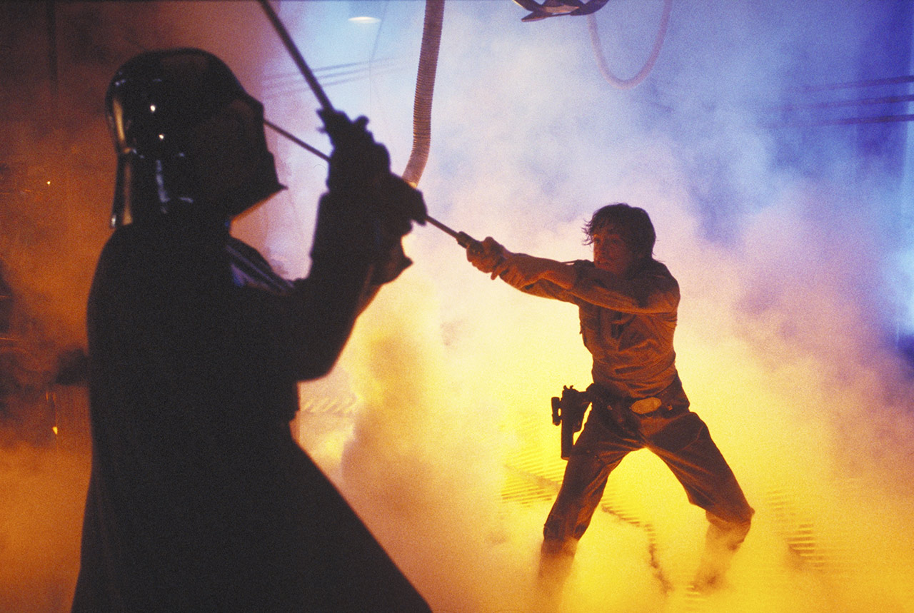 Luke vs. Darth Vader The Empire Strikes Back behind the scenes