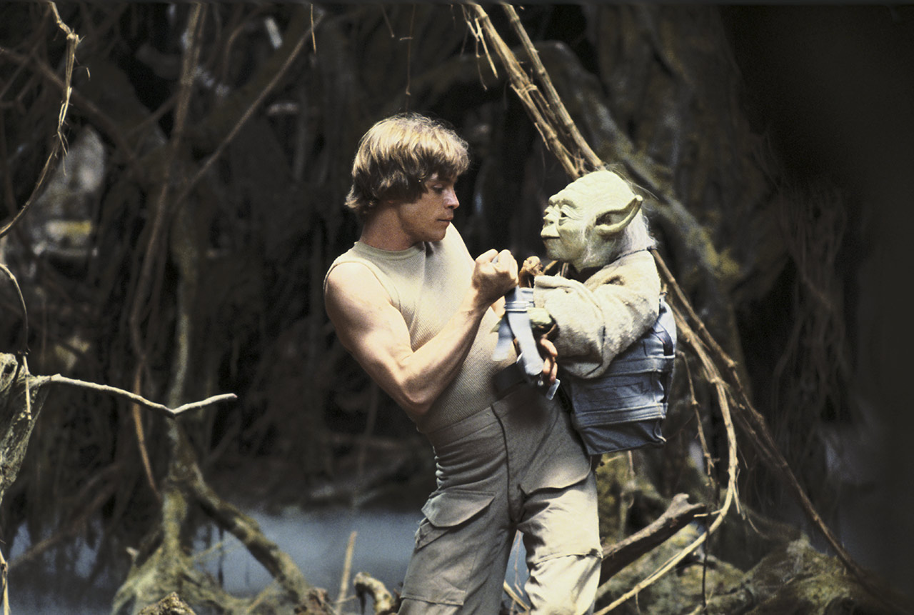 Luke and Yoda on Dagobah The Empire Strikes Back behind the scenes