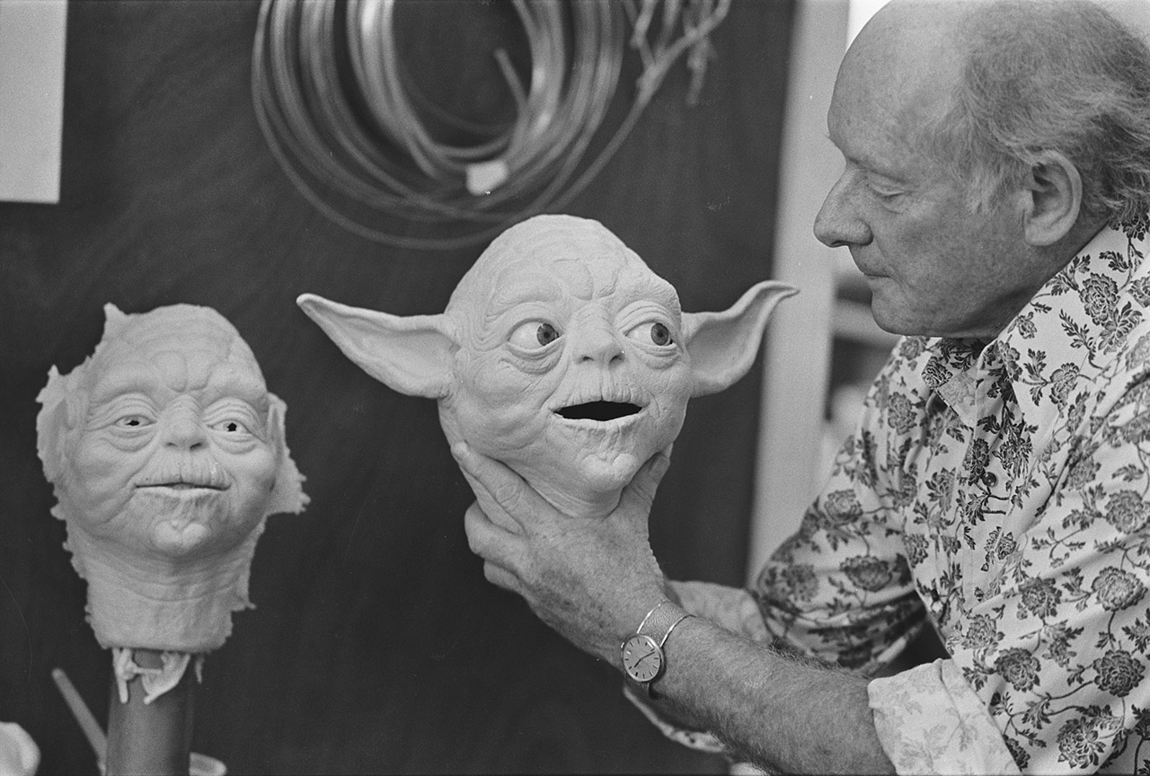 Yoda on The Empire Strikes Back behind the scenes