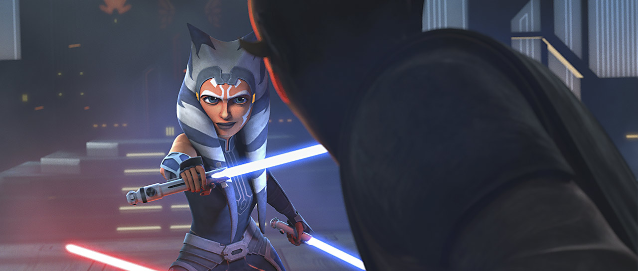 Maul and Ahsoka