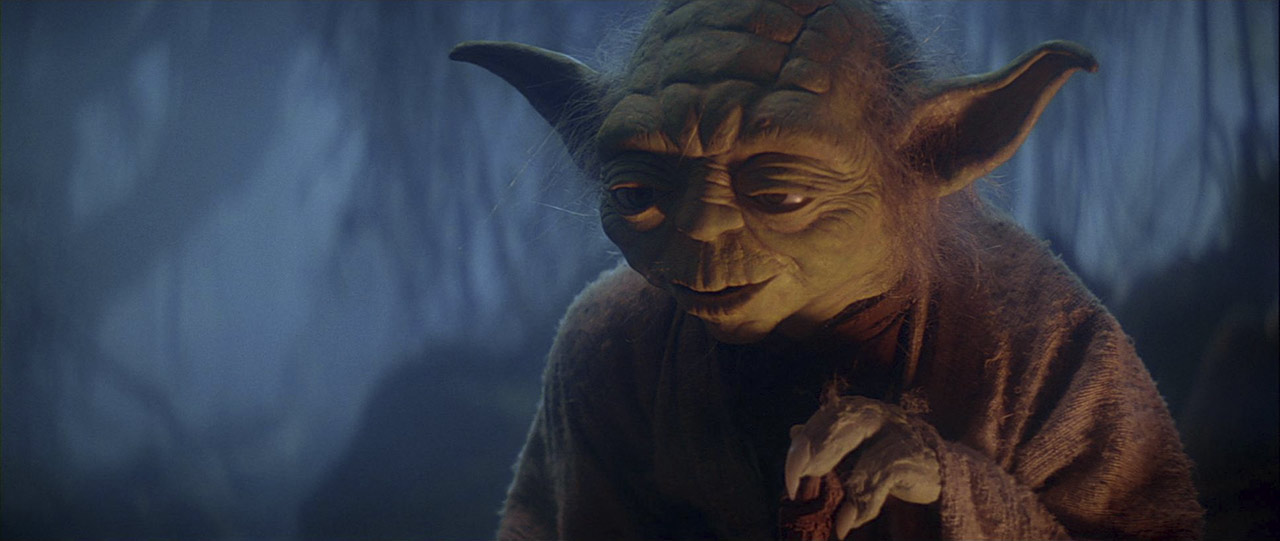 """Aww, cannot get your ship out?"" – Yoda"