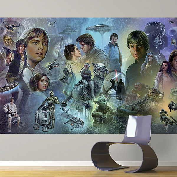 York Wallcoverings original trilogy