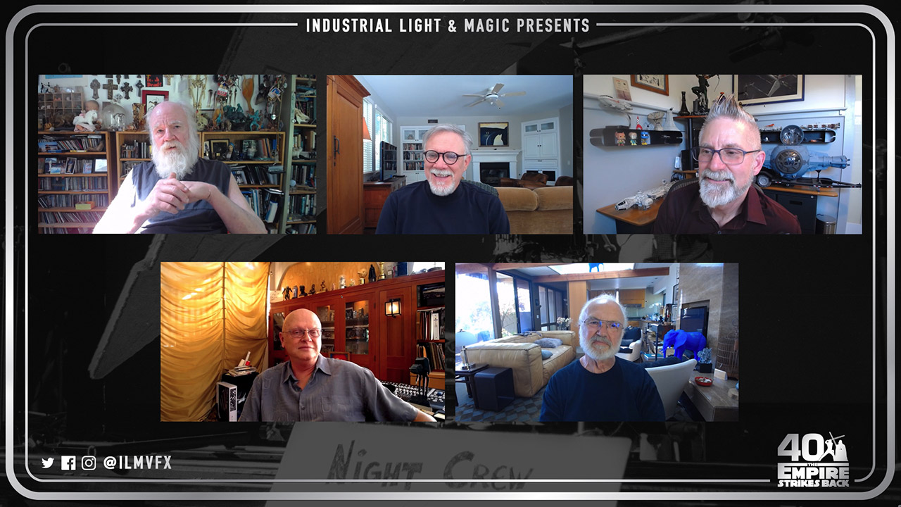 ILM legends gather to talk via webcam.