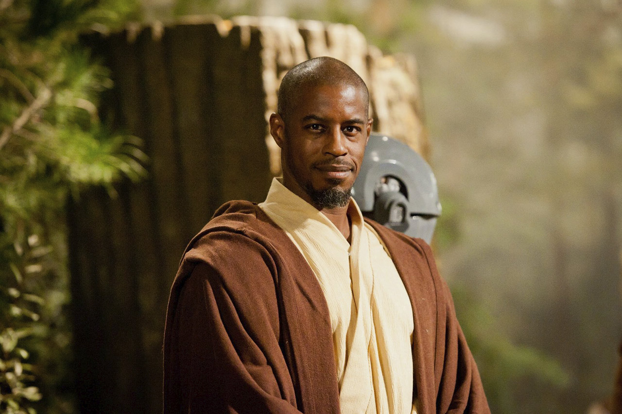 Ahmed Best as Jedi Master Kelleran Beq.