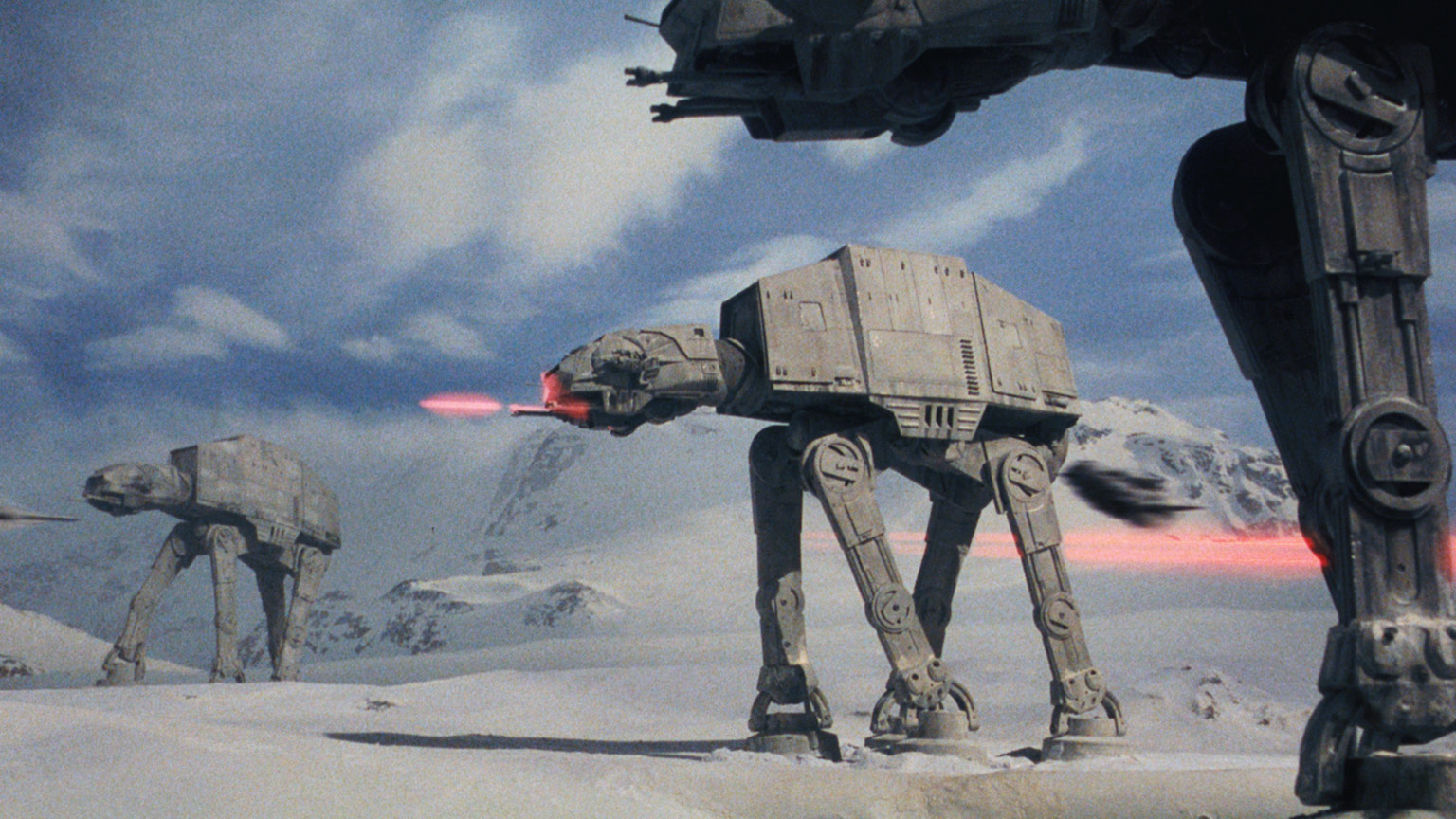 AT-ATs in the Battle of Hoth