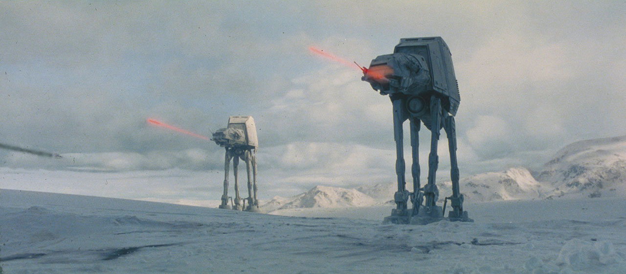 Walkers in the Battle of Hoth