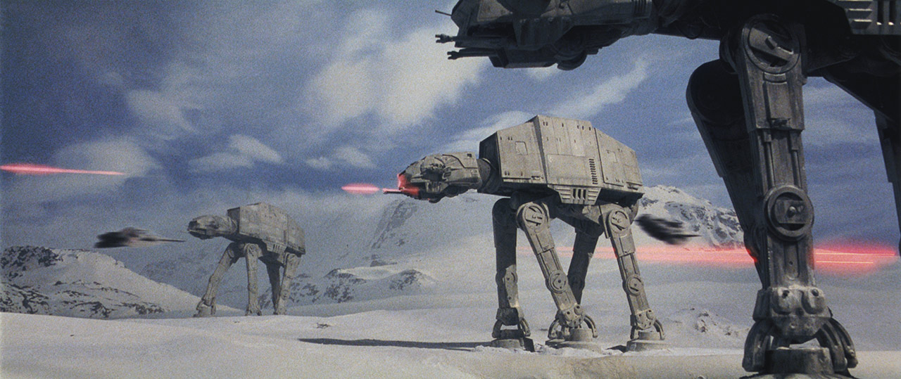 AT-ATs at the Battle of Hoth