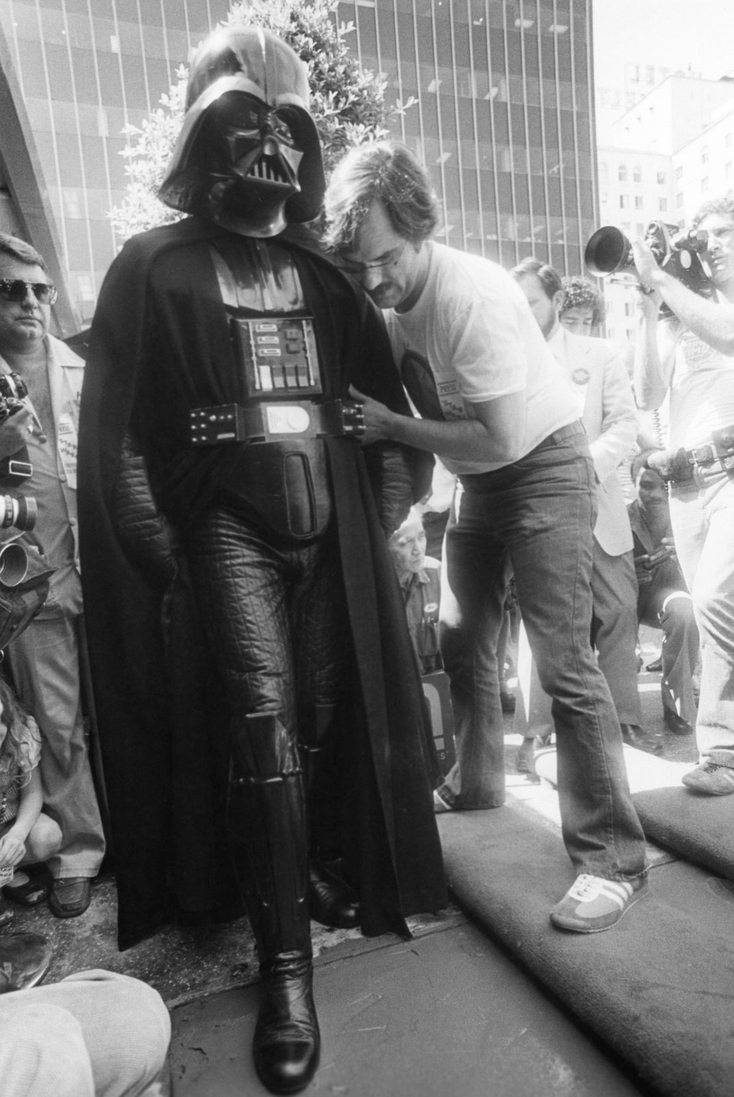 Charley Lippincott and Darth Vader