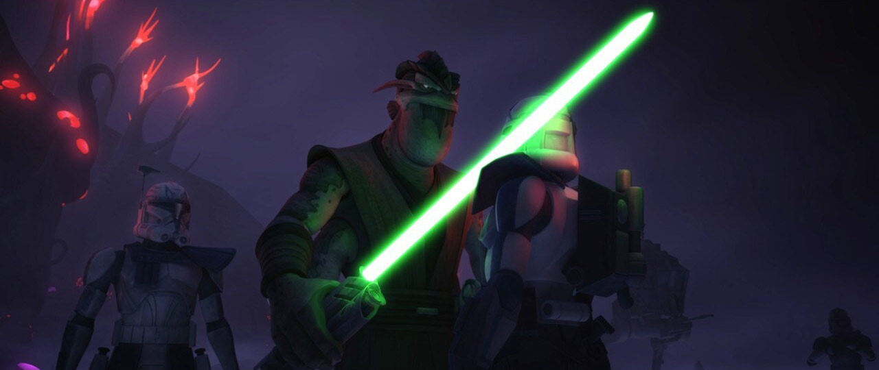 Clone Trooper and General Pong Krell