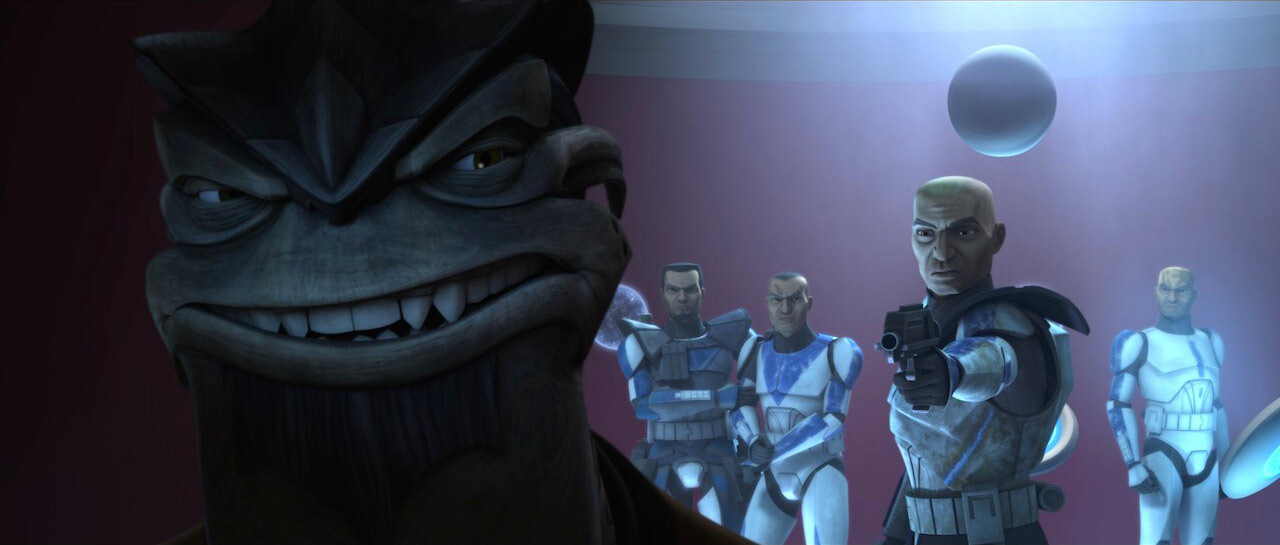 Clone Troopers and General Pong Krell