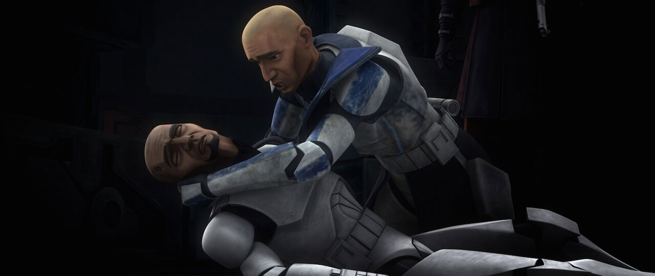 Clone Trooper Fives and Captain Rex