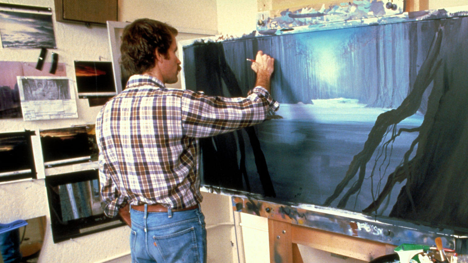 The Empire Strikes Back matte painting