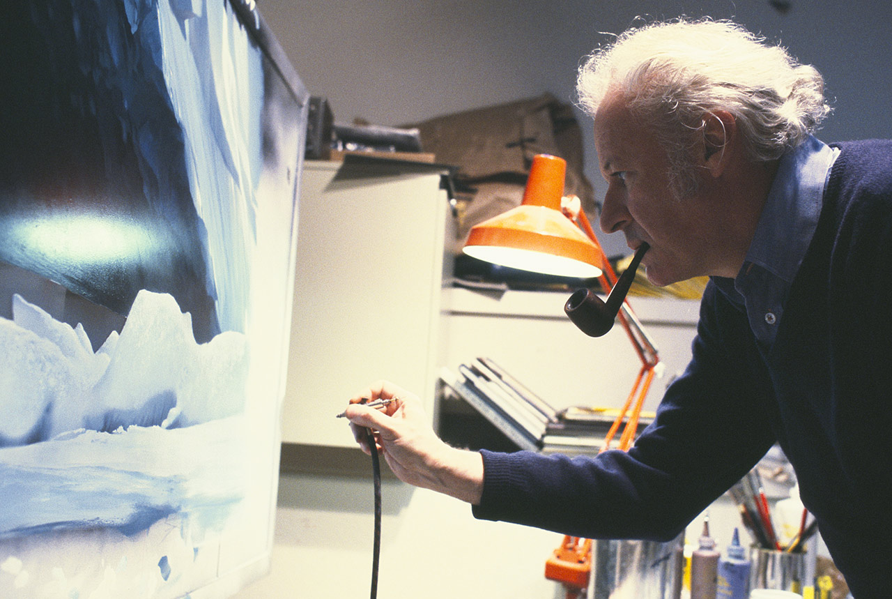 Battle of Hoth matte painting