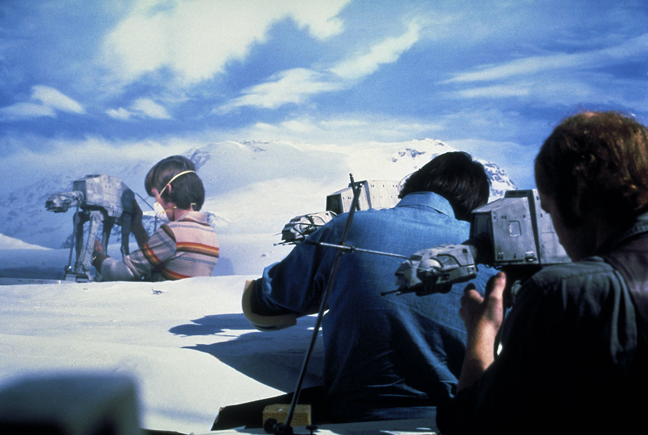 Battle of Hoth behind the scenes