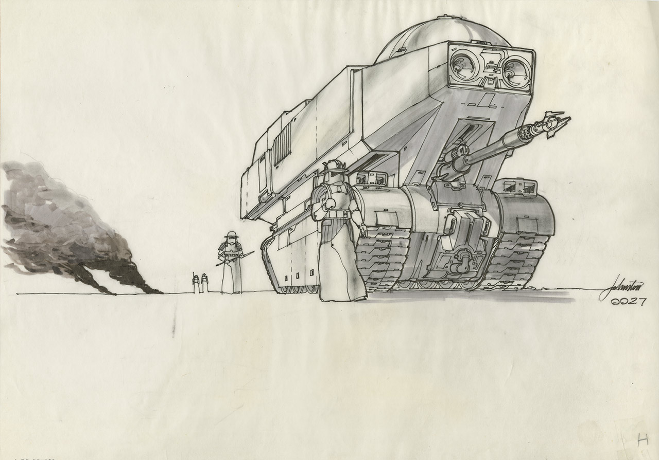 Imperial tank concept art