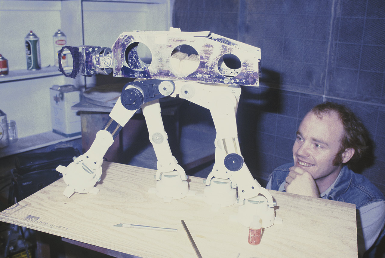 Phil Tippett AT-AT stop motion