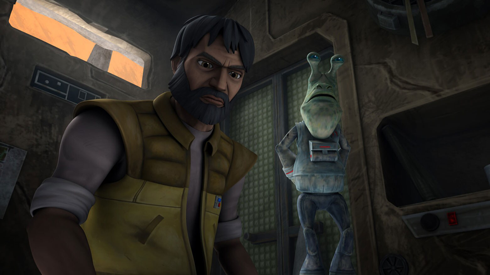 """Gregor in The Clone Wars """"Missing in Action"""""""