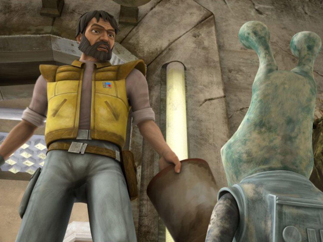"Colonel Gascon and Gregor in The Clone Wars ""Missing in Action"""