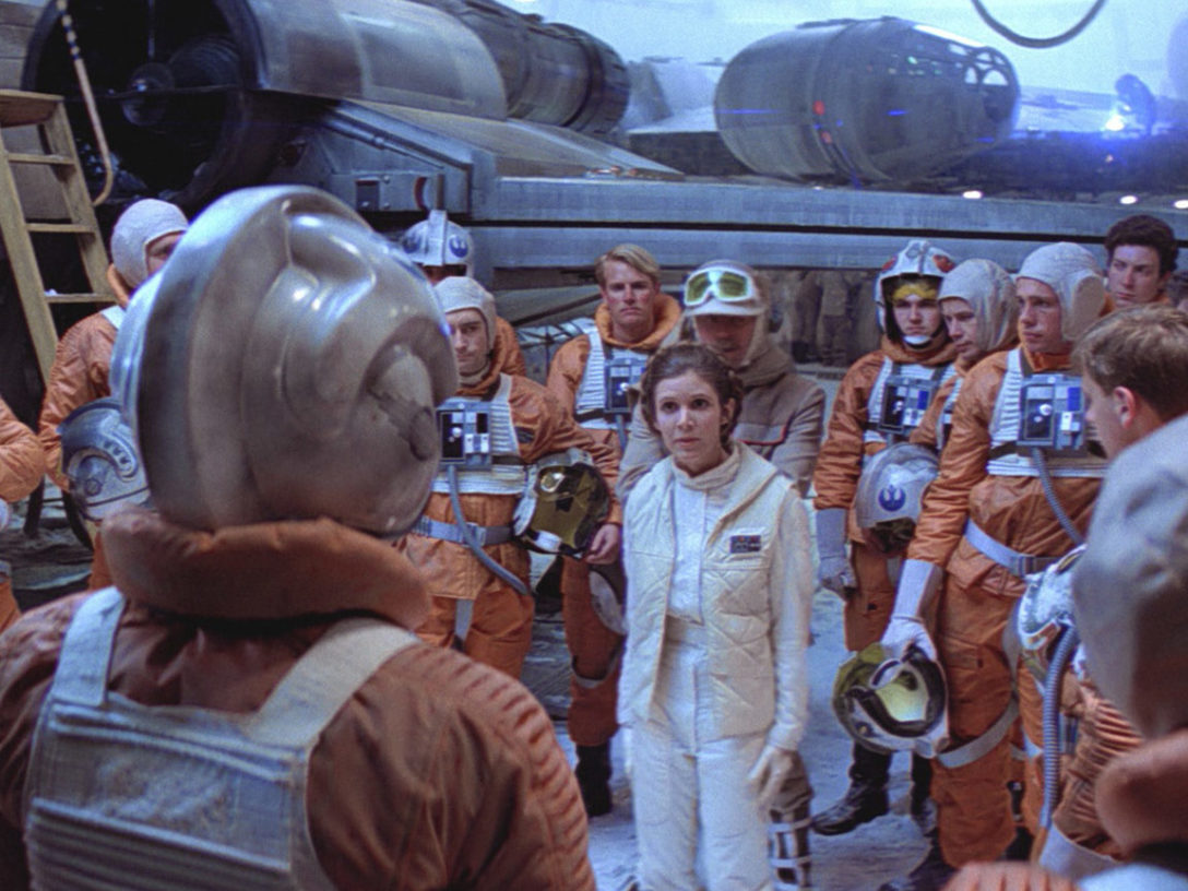 Rebel pilots at the Battle of Hoth