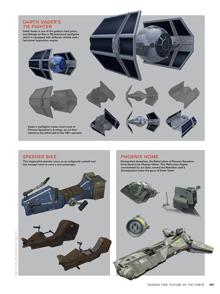 The Art of Star Wars Rebels page 101