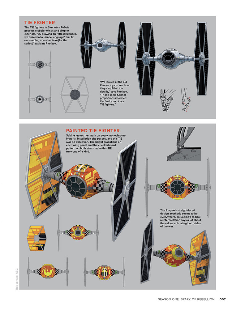 The Art of Star Wars Rebels page 57