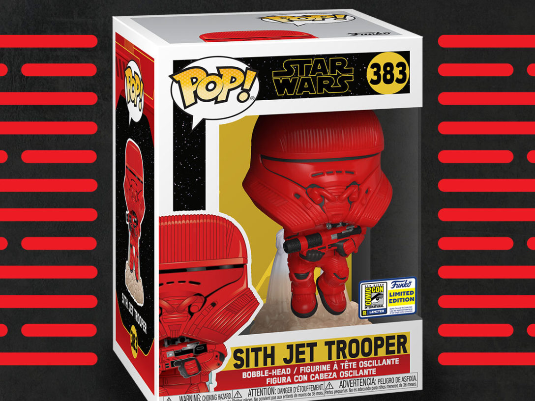 Funko Pop! Sith Jet Trooper in box