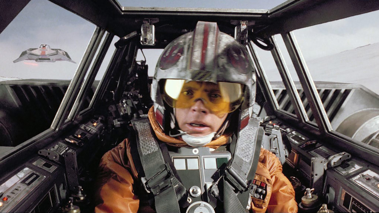 Luke at the Battle of Hoth