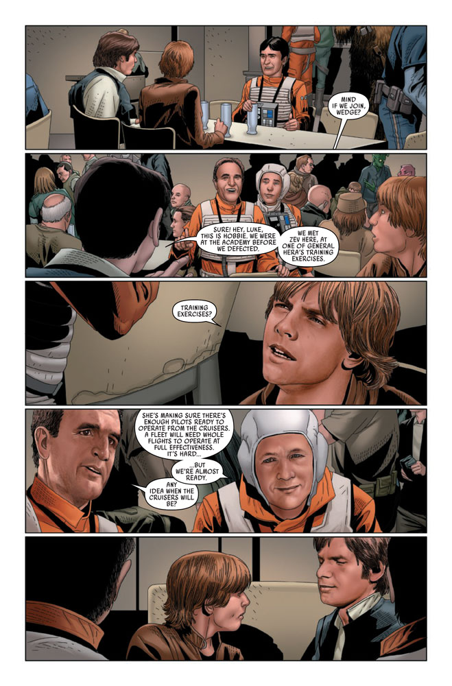 Excerpt from Star Wars #45