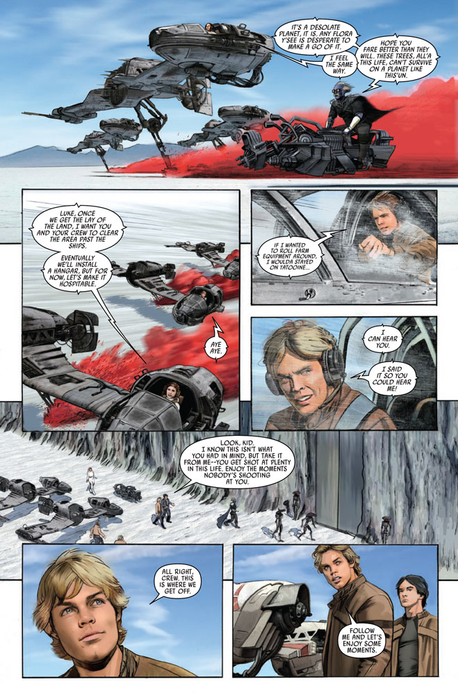 Excerpt from Storms of Crait #1