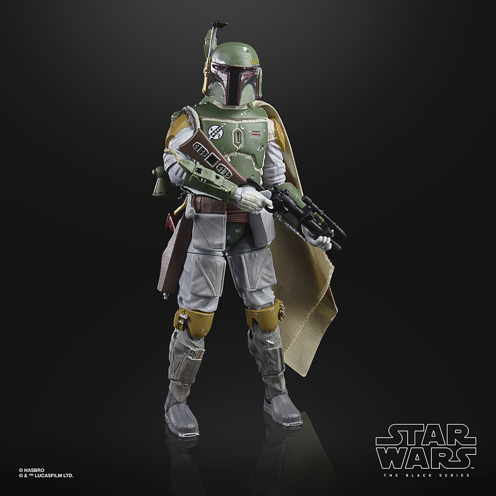 The Black Series Boba Fett.