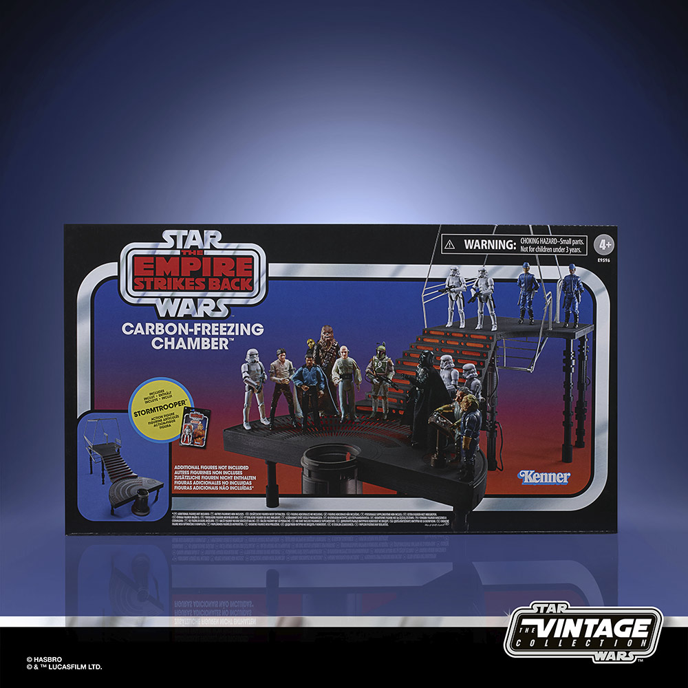 The Vintage Collection Carbon-Freezing Chamber Playset.