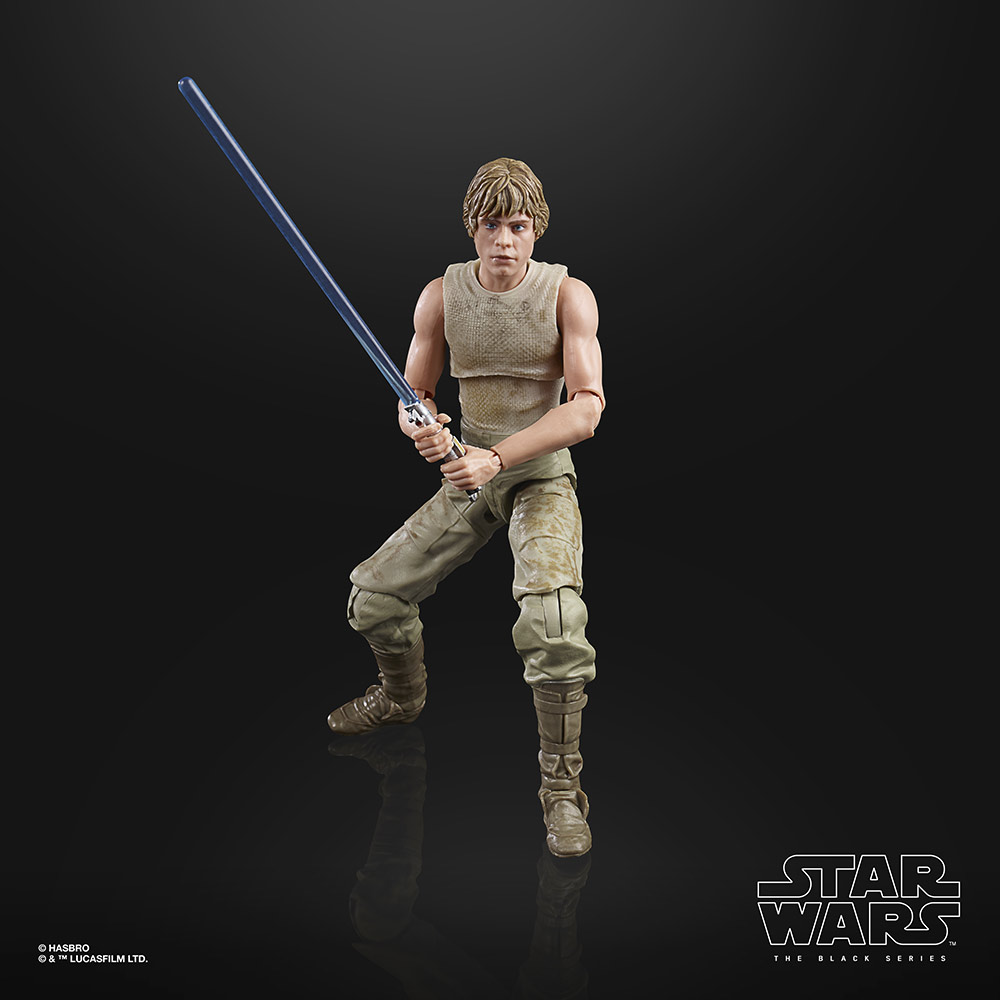 The Black Series Luke on Dagobah.