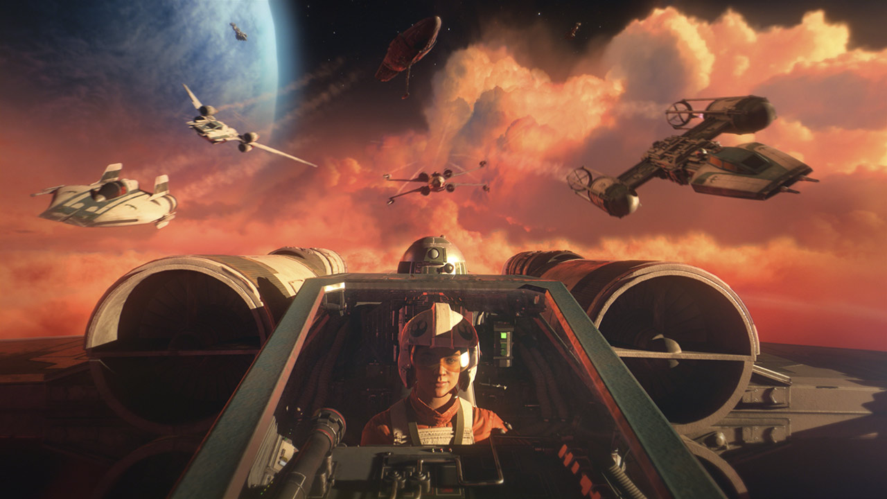 Star Wars: Squadrons New Republic pilots