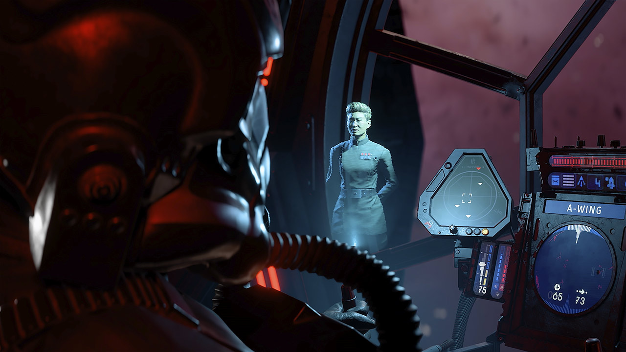 Star Wars: Squadrons gameplay TIE pilot view