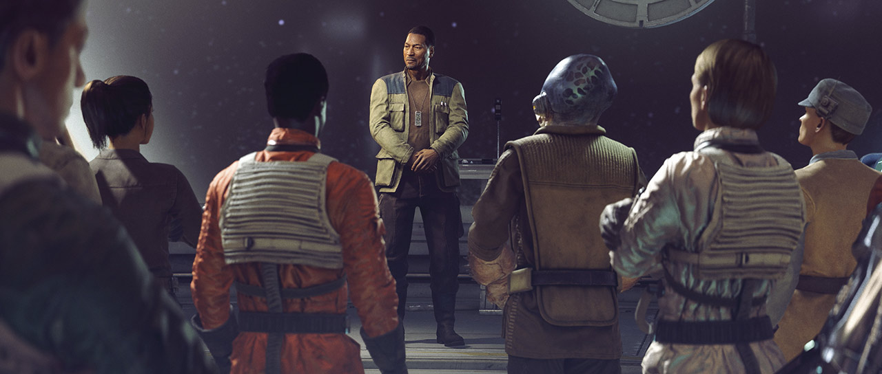 Star Wars: Squadrons Lindon briefing