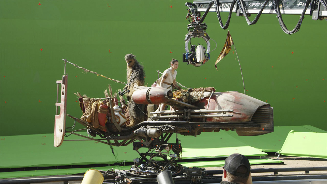 Behind the scenes of Star Wars: The Rise of Skywalker