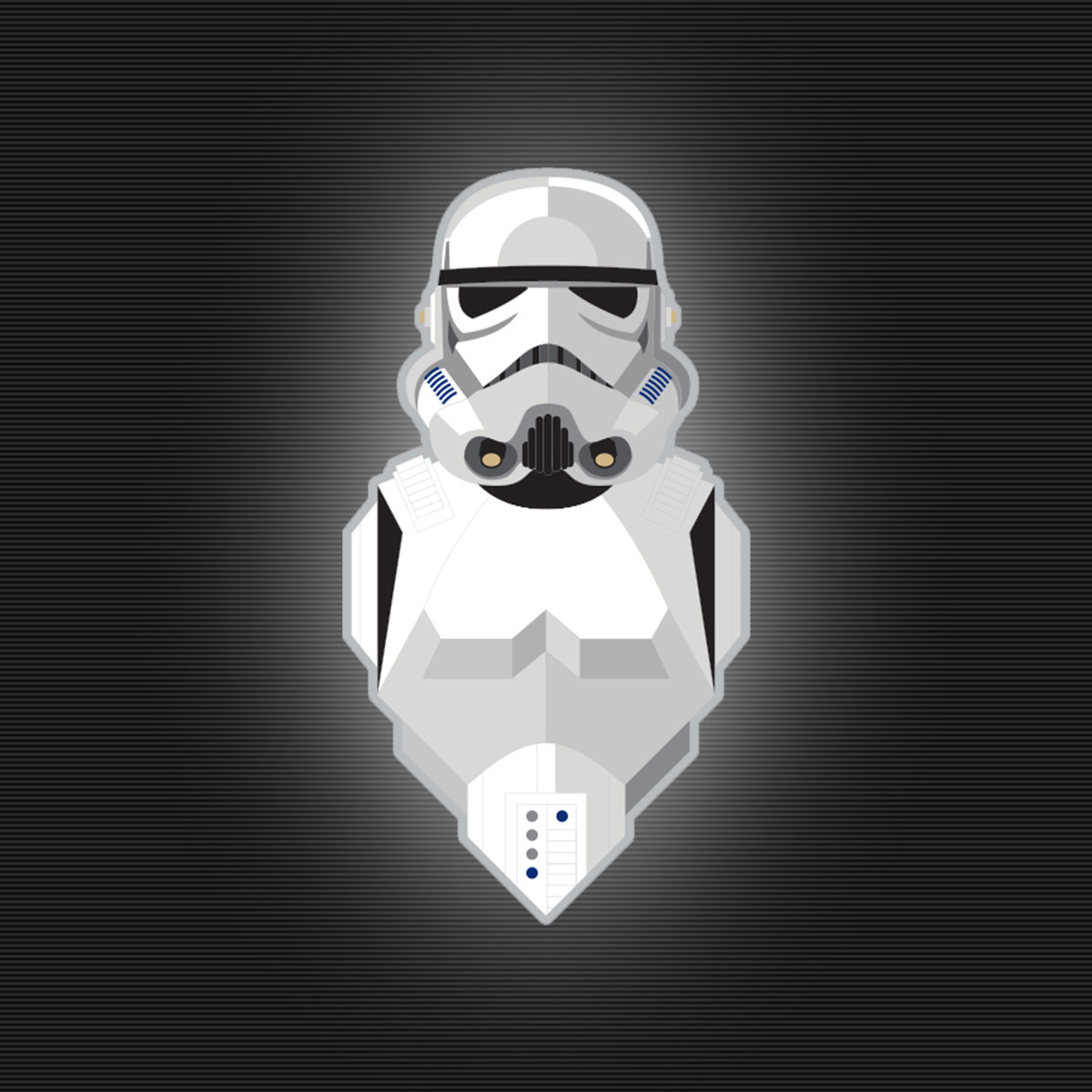 Star Wars Celebration stormtrooper pin