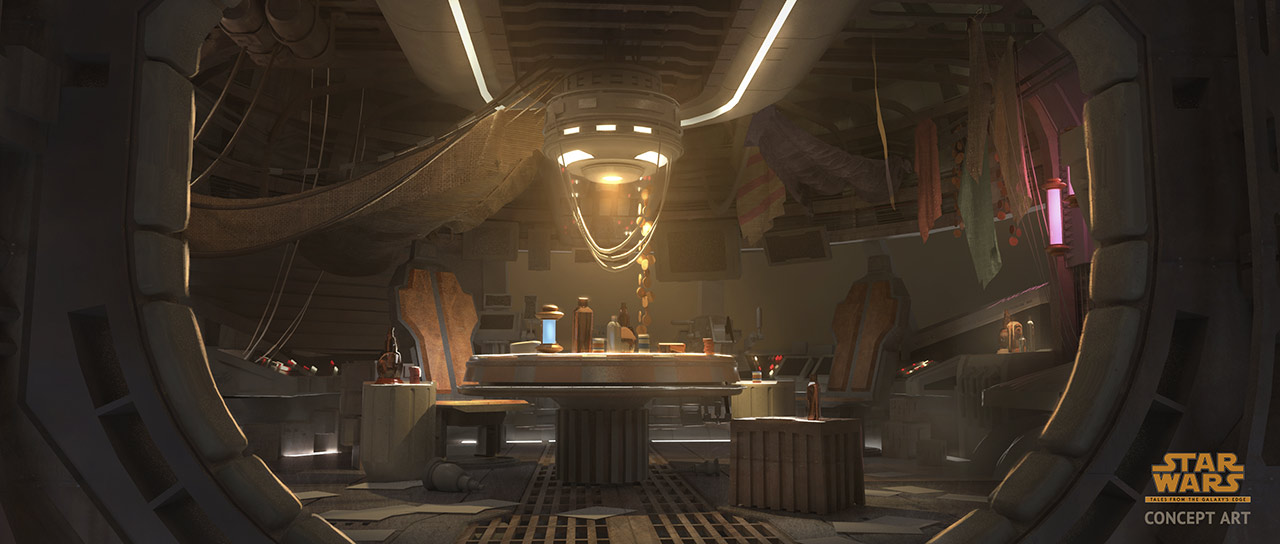 Star Wars: Tales from the Galaxy's Edge: Cantina interior