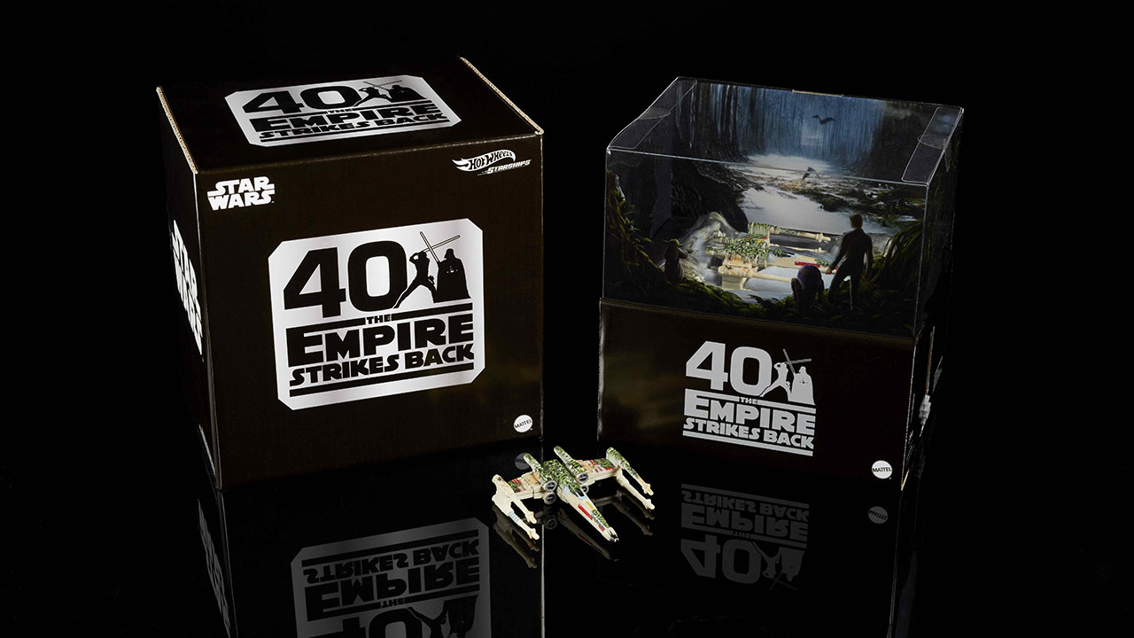 SDCC Exclusive Hot Wheels X-Wing box