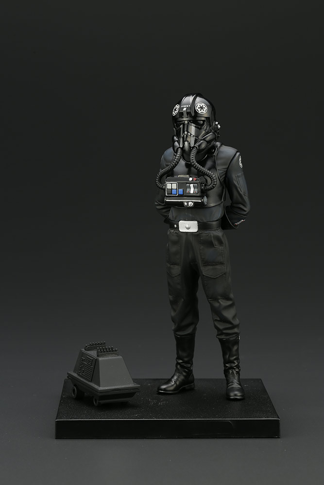 Kotobukiya TIE Fighter Pilot Backstabber and Mouse Droid