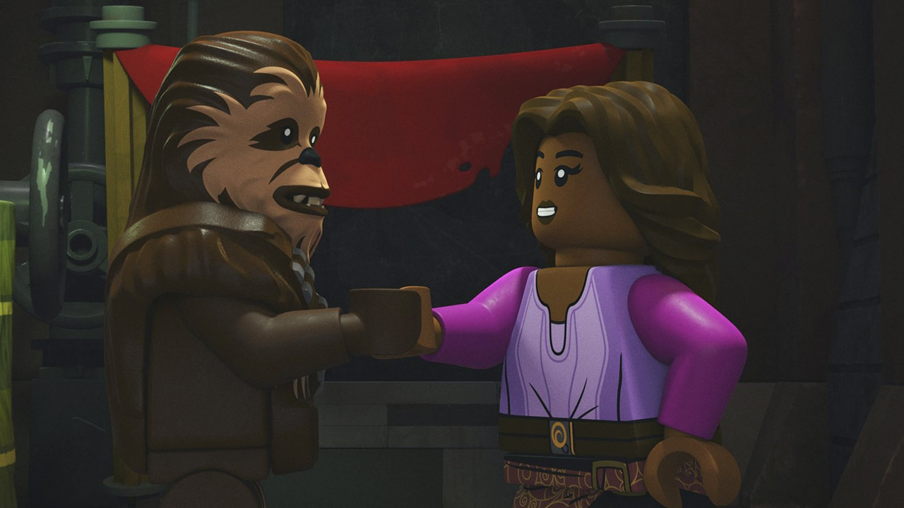 "A scene from ""The Chase with Han/The Escape with Chewbacca"""