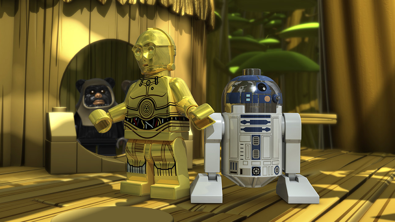 LEGO Star Wars C-3PO and R2-D2