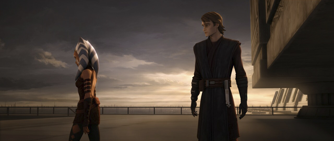 """A scene from """"The Wrong Jedi"""""""