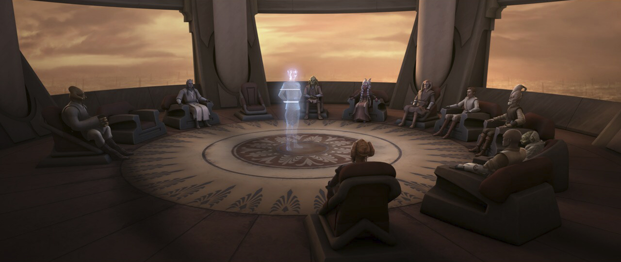 "A scene from ""The Wrong Jedi"""