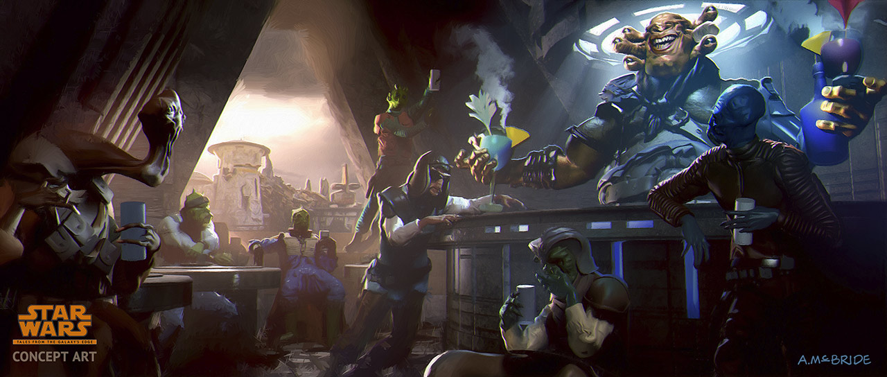 Star Wars: Tales from the Galaxy's Edge: Seezelslak Cantina