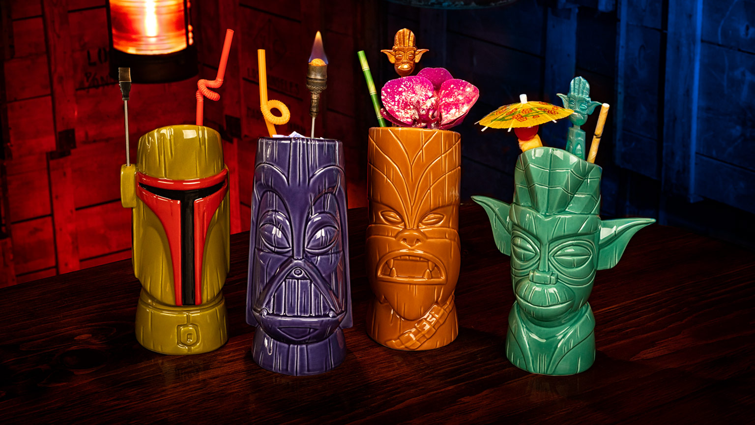 Shag x Geeki Tikis Star Wars set