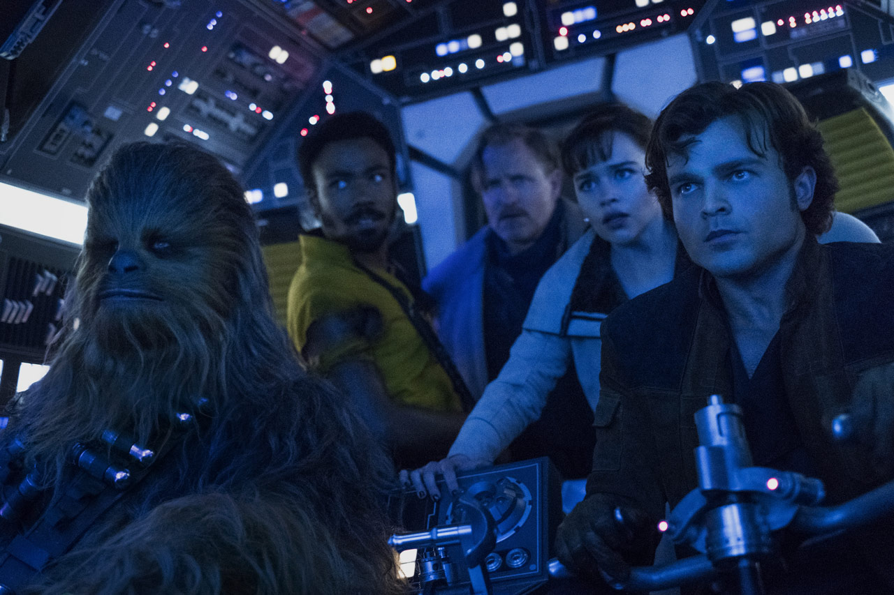 Screengrab from Solo: A Star Wars Story